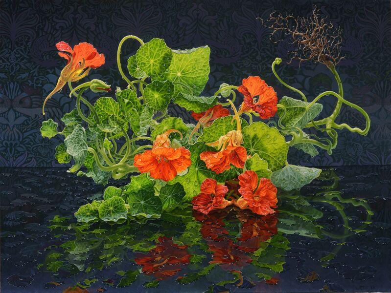 Eric Wert, 'Nasturtium', 2018, Painting, Oil on Panel, Gallery Henoch
