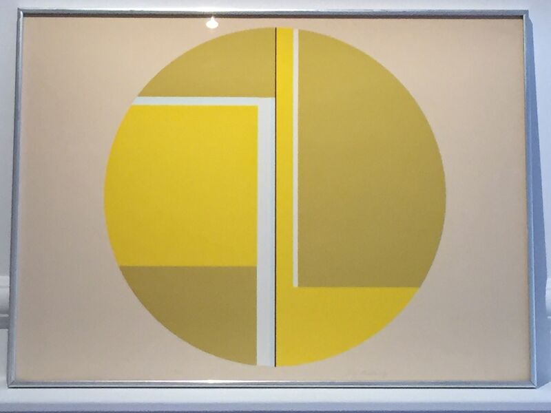 Ilya Bolotowsky, 'Untitled', ca. 1970, Print, Screenprint, Anders Wahlstedt Fine Art