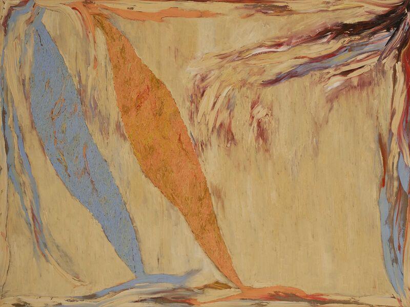 Stanley Boxer, 'Snowfleeceshards', 1974, Painting, Oil on linen, Gerald Peters Gallery