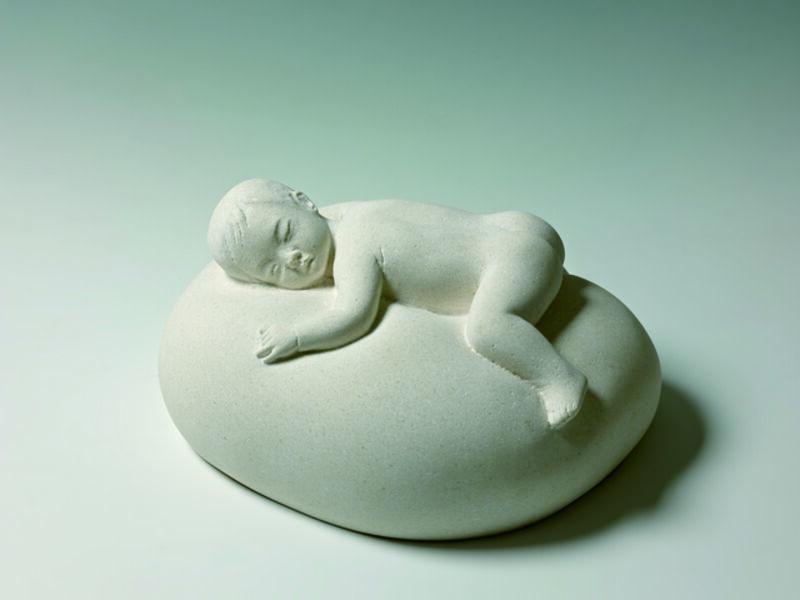 Heang Gyun Lee, 'Baby Heaven', 2013, Sculpture, Sandstone, Gallery Doll
