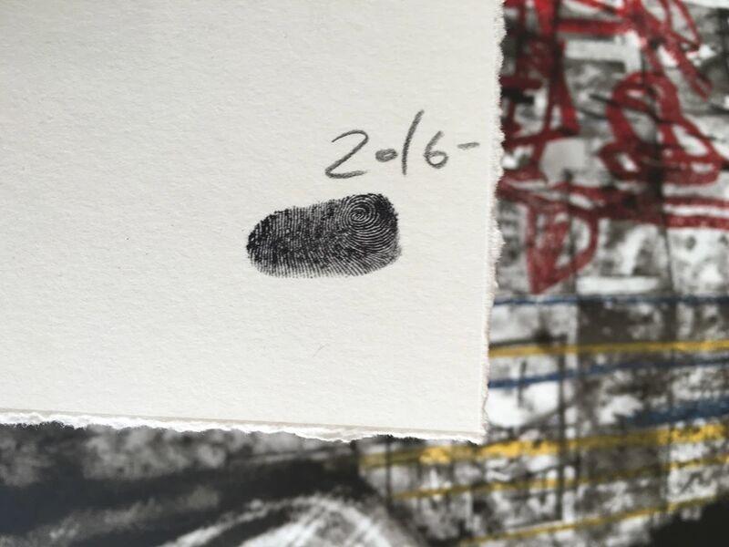Mr. Brainwash, 'Samo is Alive', 2016, Print, Original screen-print hand-finished with acrylic, Samhart Gallery