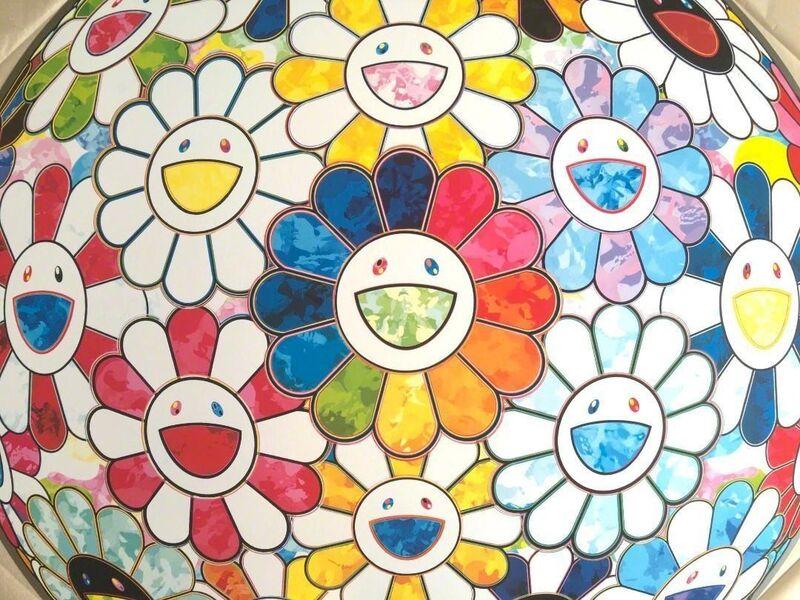 Takashi Murakami, 'Flowerball : Rainbow in the Midst', 2016, Print, Dope! Gallery