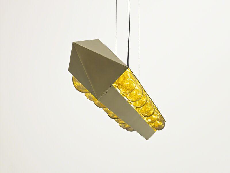 Brian Thoreen, 'Torpedo Chandelier', 2015, Design/Decorative Art, Brass and glass, Patrick Parrish Gallery