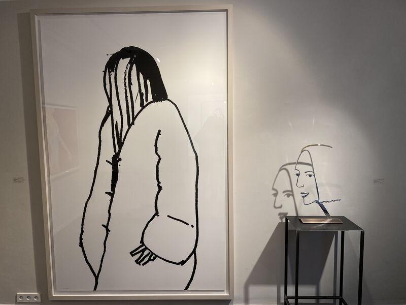 Alex Katz, 'Shopper #11', 2015, Print, Silkscreen on paper, Galerie Schimming