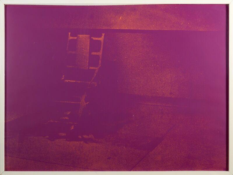 Andy Warhol, 'Electric Chair #76', 1971, Print, Screenprint in colors (framed), Rago/Wright/LAMA