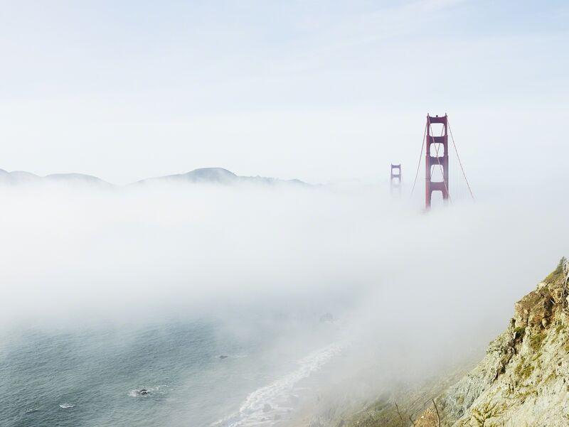 Josef Hoflehner, 'Golden Gate, San Francisco, California', 2014, Photography, Galerie Nikolaus Ruzicska