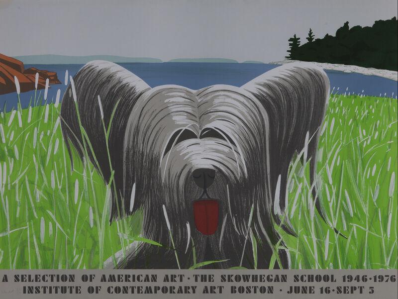 Alex Katz, 'Dog at Duck Trap ', 1976, Print, Silkscreen in color, Dowling Walsh