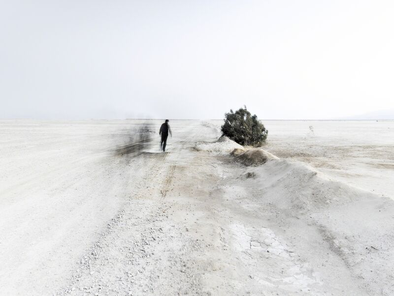 Neil Folberg, 'White Winds #1 - Infinite Road', 2018, Photography, Archival Pigment Print, Vision Neil Folberg Gallery