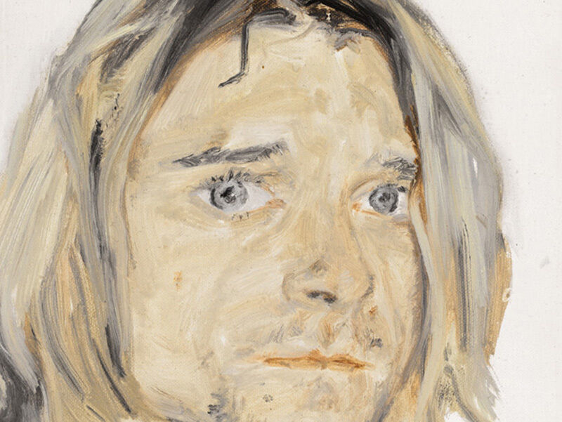 Wang Yingying 汪莺莺, 'Kurt Cobain 科特·柯本', 2013, Painting, Oil on canvas, Space Station