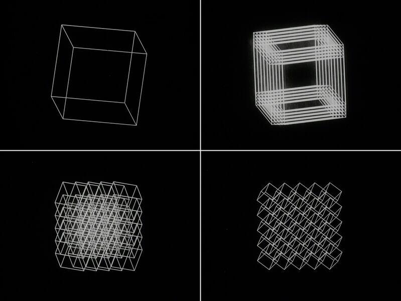 Manfred Mohr, 'Cubic Limit', 1973-1974, Video/Film/Animation, Digital transfer of 16mm film, bitforms gallery