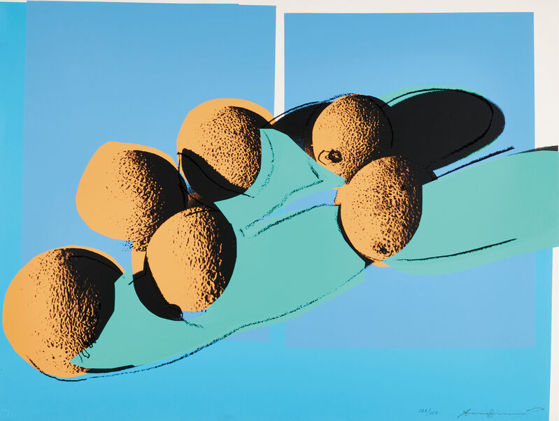 Andy Warhol, 'Cantaloupes I, from Space Fruit: Still Lifes', 1979, Print, Screenprint in color, on Lenox Museum Board, the full sheet., Phillips