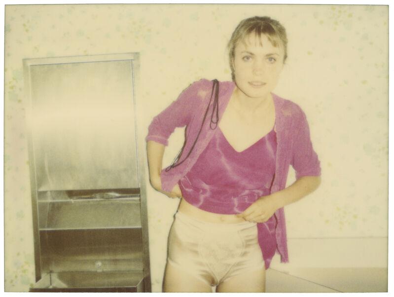 Stefanie Schneider, 'Silver Panties (Suburbia)', 2004, Photography, Digital C-Print, based on a Polaroid, Instantdreams