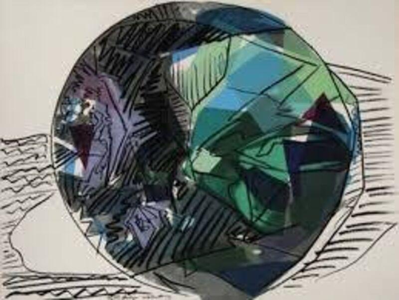 Andy Warhol, 'Gem Diamond ', 1978, Print, Screenprint on paper, Chelsea Art Group