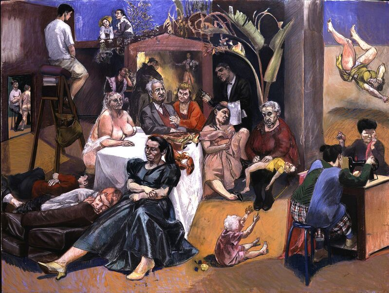 Paula Rego, 'Celestina's House', 2000-2001, Drawing, Collage or other Work on Paper, Pastel on paper, Marlborough Fine Art