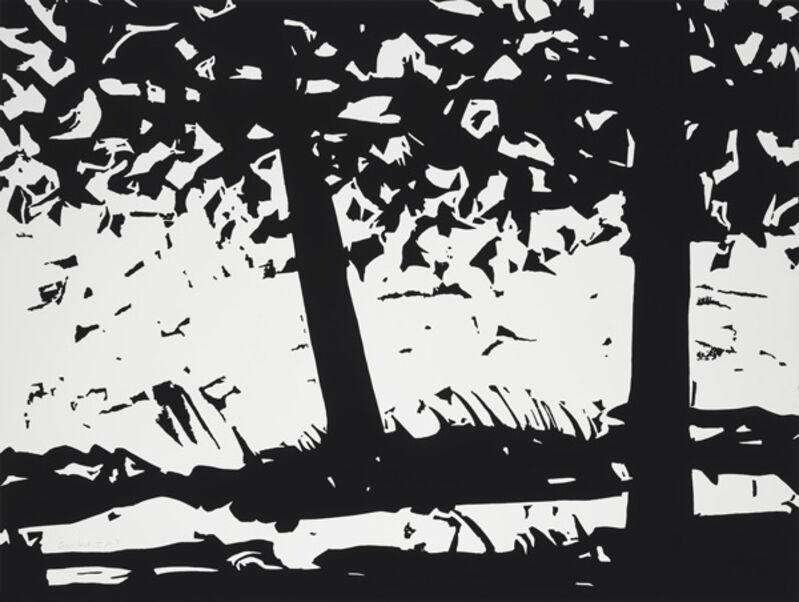 Alex Katz, 'Maine Woods 1', 2013, Print, Woodblock on Somerset satin white 300 gsm paper, Haw Contemporary