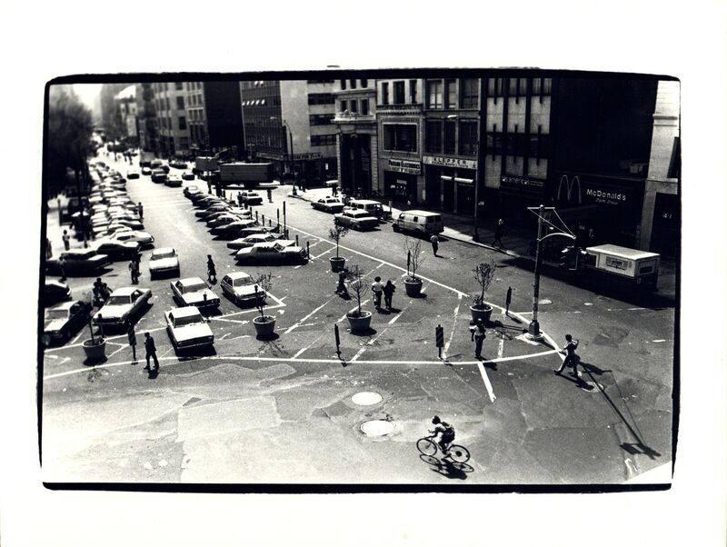 Andy Warhol, 'Andy Warhol, View from The Factory at 860 Broadway Looking Down at Union Square West, 1970s ', 1970-1979, Photography, Silver gelatin print, Hedges Projects