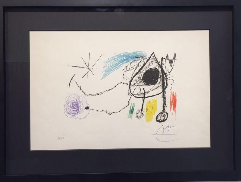 Joan Miró, 'Siobreteixms Escultures ', 1993-1980, Painting, Lithography, Galerie Vivendi