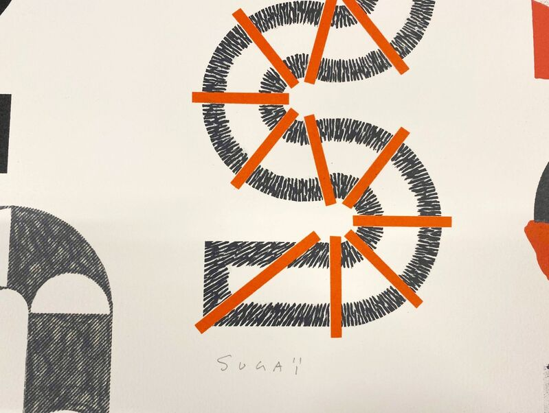 Kumi Sugaï, 'Groupe S', 1989, Print, Original lithograph on Arches paper, Samhart Gallery