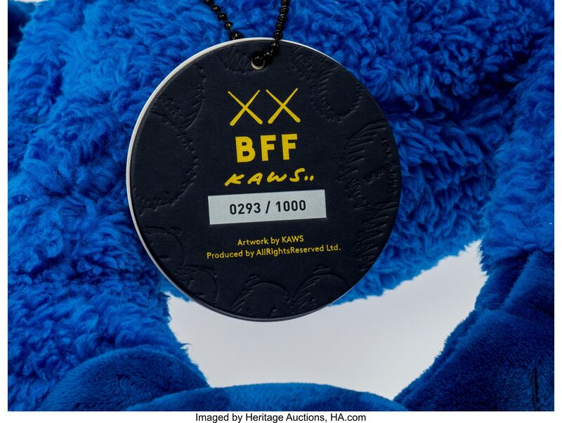 KAWS, 'BFF Companion (Blue)', 2016, Other, Polyester, Heritage Auctions