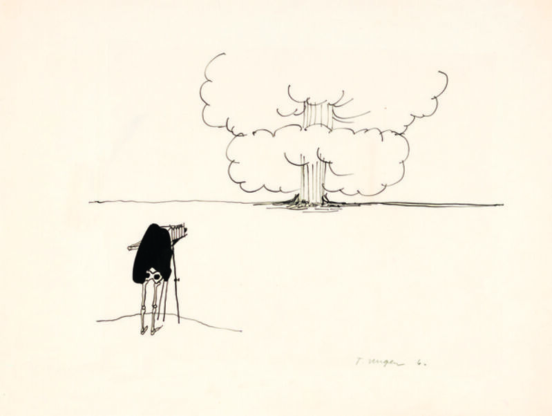 Tomi Ungerer, 'Untitled', 1961, Drawing, Collage or other Work on Paper, Ink on tracing paper, Drawing Center