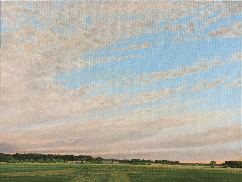 Keith Jacobshagen, 'Southwest of Greenwood', 2021, Painting, Oil on canvas, Kiechel Fine Art