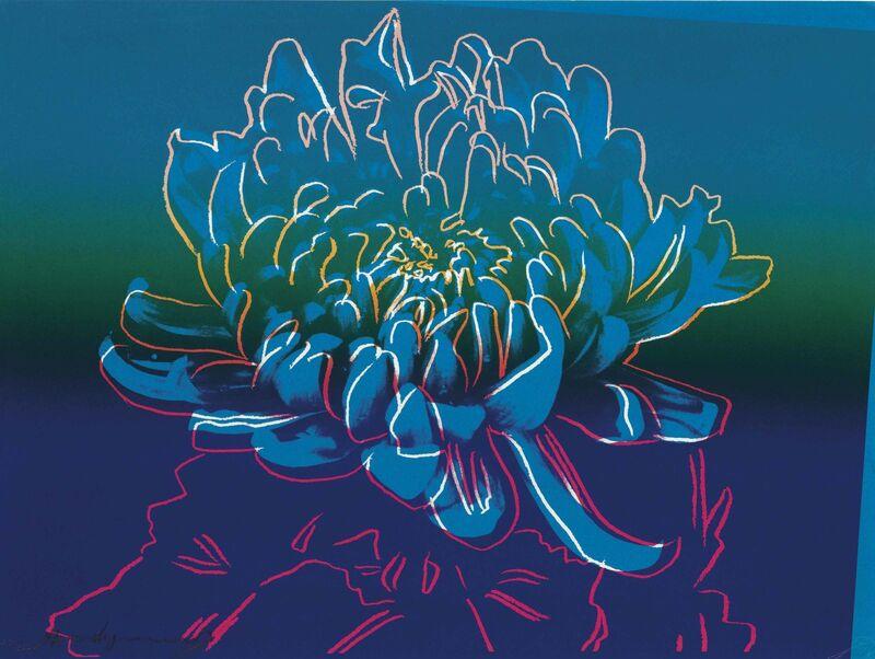 Andy Warhol, 'Kiku: one plate', 1983, Print, Screenprint in colors, on Rives BFK paper, Christie's