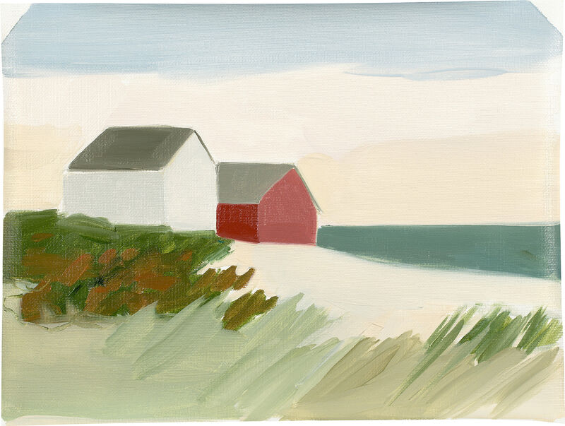Maureen Gallace, 'Cape Cod Christmas', 2001, Painting, Oil on unstretched canvas, Phillips