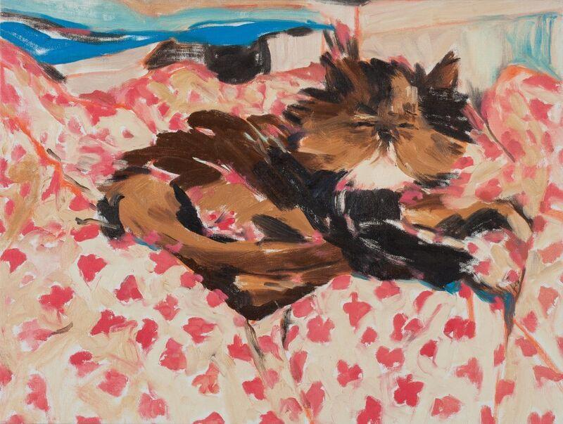 Sunhee Lim, 'Brush Strokes_Krissy Kardashian', 2017, Painting, Oil on Canvas, UARTSPACE