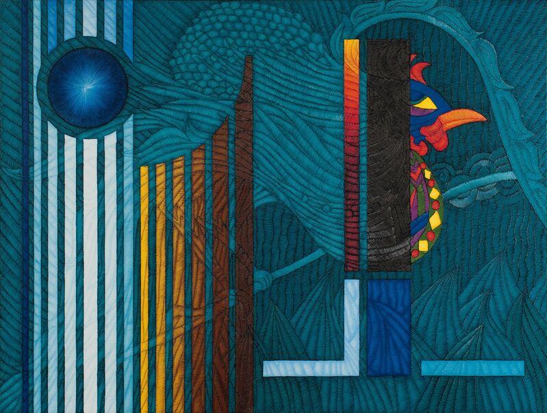 Ahmet Güneştekin, 'Call of One Thousand and One Colors', 2012, Painting, Oil on Canvas, Marlborough Gallery Fair Partner