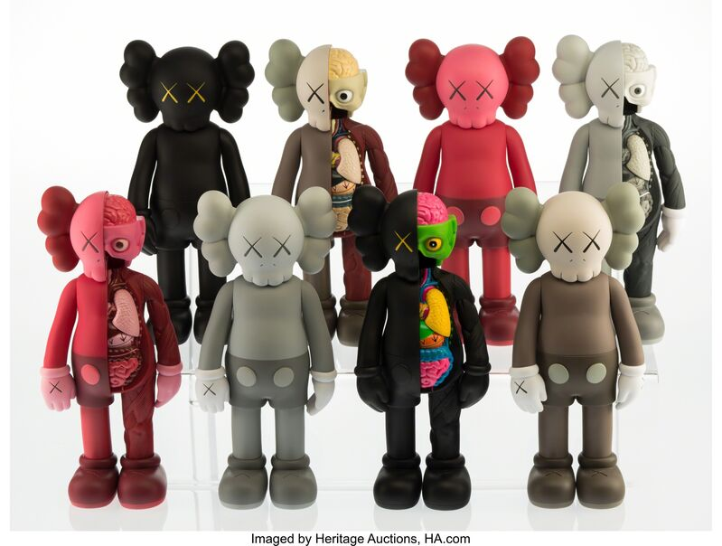 KAWS, 'Companion (Open Edition) (set of eight)', 2016, Other, Painted cast vinyl, Heritage Auctions