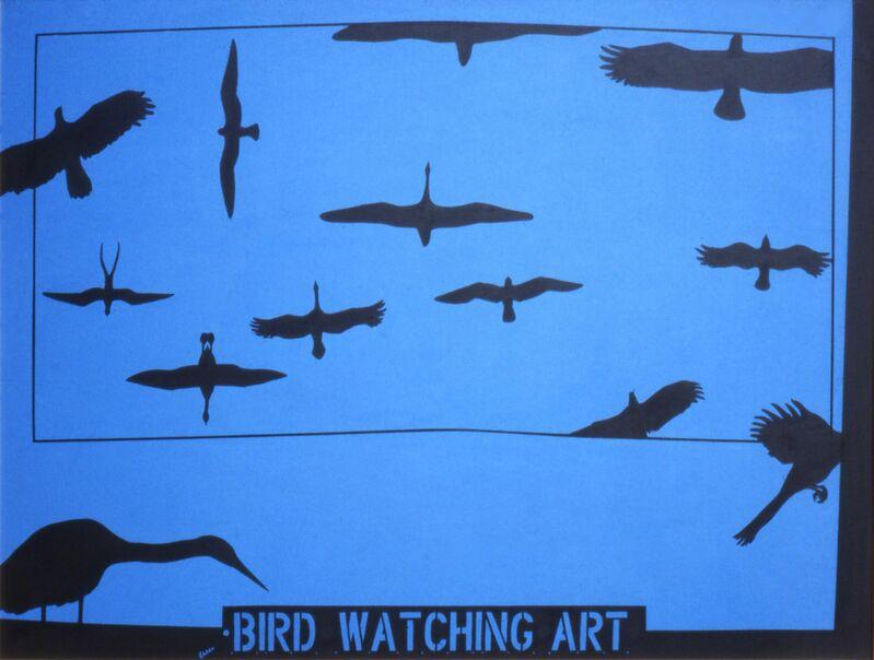 Mel Casas, 'Humanscape 95: Bird Watching Art', 1978, Painting, Acrylic on canvas, Ruiz-Healy Art