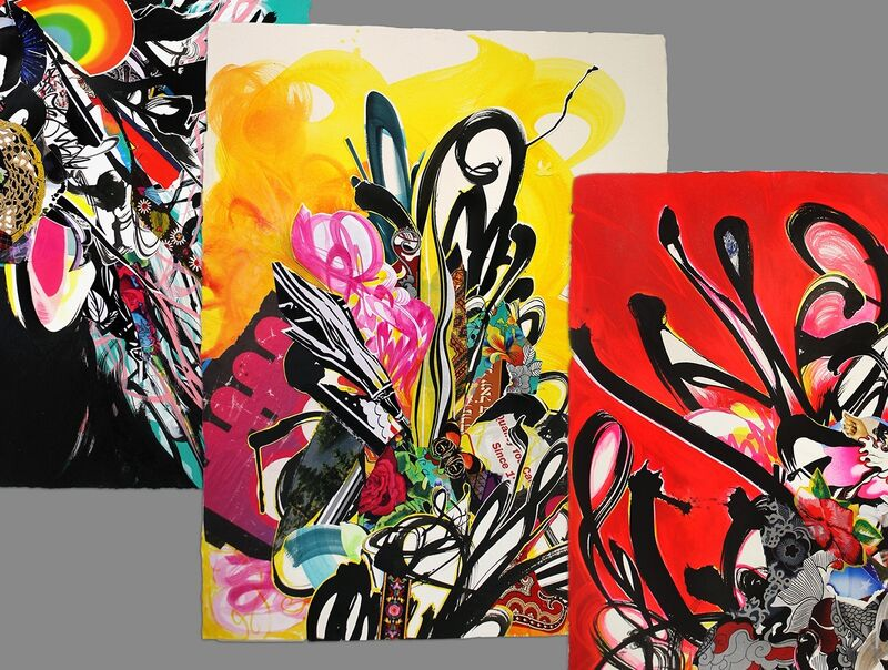 Shinique Smith, 'Shinique Smith Limited Edition Print Series', 2015, Books and Portfolios, Archival inkjet prints, BAM