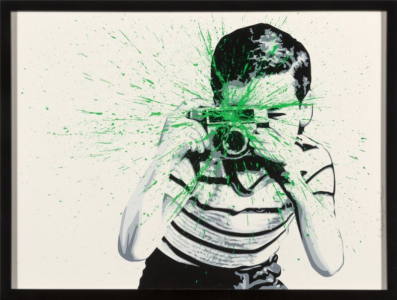 Mr. Brainwash, 'Smile (Green)', 2011, Print, Screenprint in colors on wove paper, Heritage Auctions