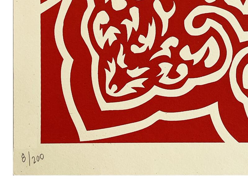 Shepard Fairey, ''Peace Woman' (Kenwood)', 2008, Print, Screen print on cream, Speckletone fine art paper., Signari Gallery