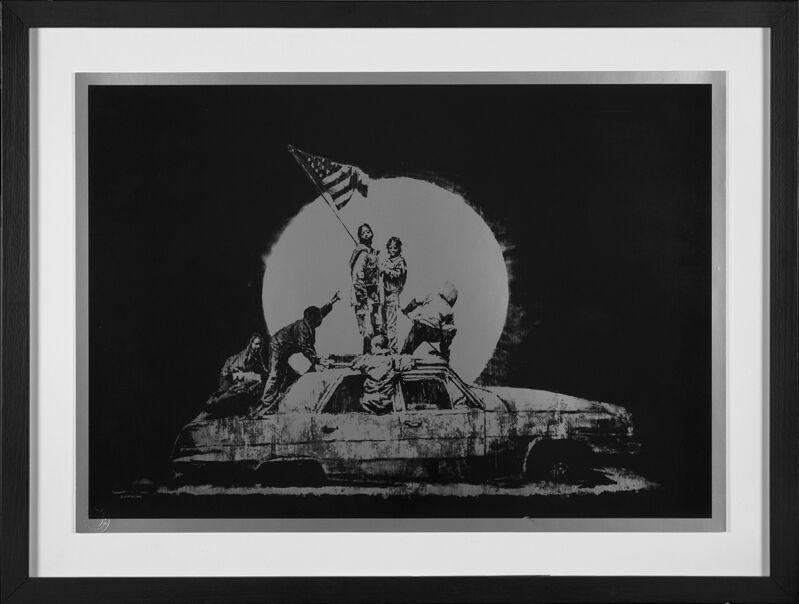 "Banksy, 'BANKSY ""FLAGS""', 2006, Print, Lithograph print, Arts Limited"