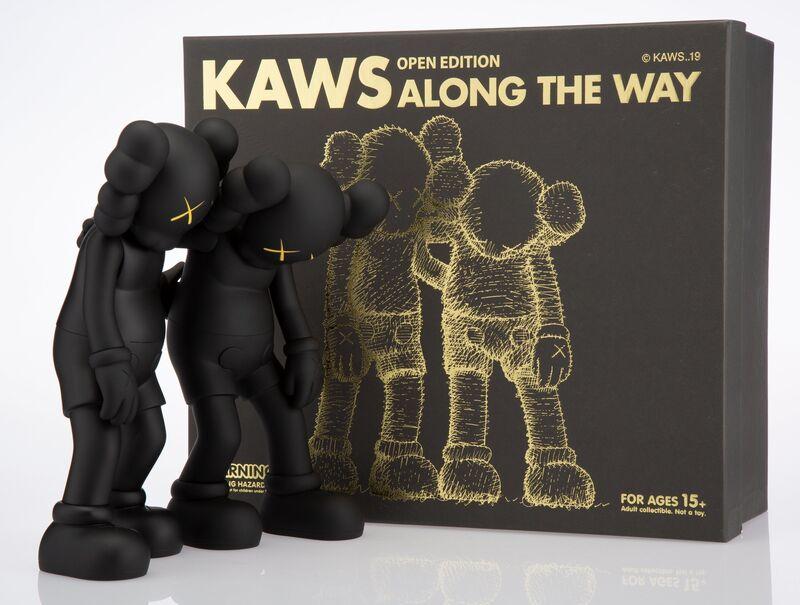 KAWS, 'Along the Way (Black)', 2019, Sculpture, Painted cast vinyl, Heritage Auctions