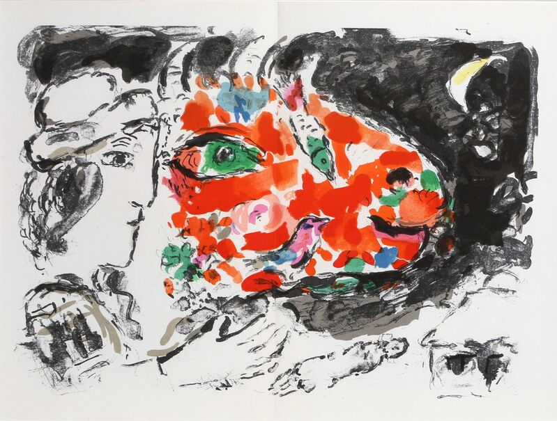 Marc Chagall, 'After the Winter from Derrière le Miroir', 1972, Print, Lithograph, RoGallery