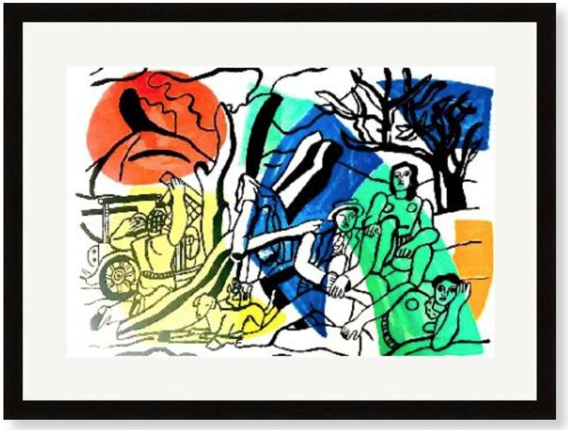Fernand Léger, 'La Partie de Campagne', 1960, Print, Velum paper, Modern-Originals