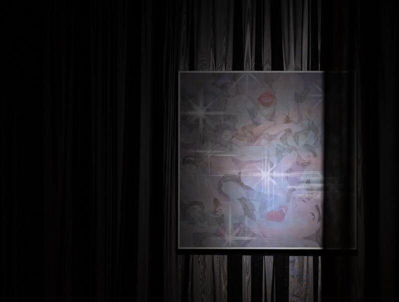 Grim Park, 'Bel ami ', 2020, Painting, Traditional Korean Painting on Silk, UARTSPACE