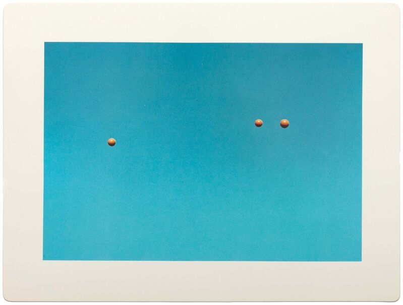John Baldessari, 'Throwing Three Balls in the Air to Get a Straight Line (Best of Thirty-Six Attempts)', 1973, Print, Complete set of twelve offset lithographs in colours, on coated stock paper, RAW Editions