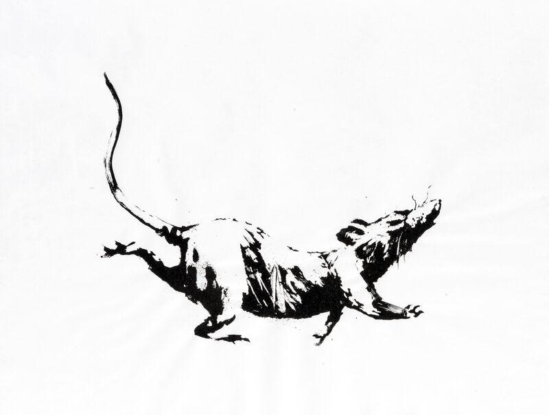 Banksy, 'GDP Rat', 2019, Ephemera or Merchandise, Screen print on 50gsm paper, Tate Ward Auctions
