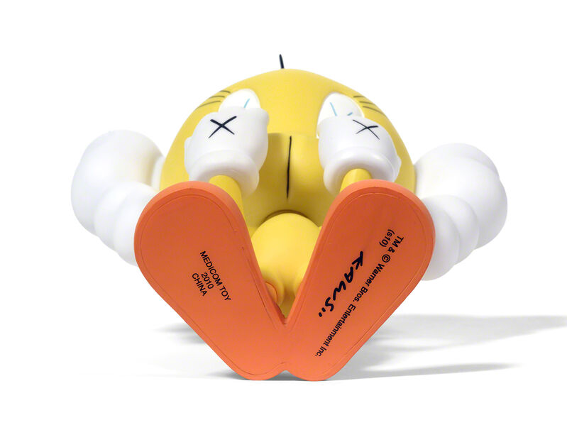 KAWS, 'KAWS TWEETY (Yellow)', 2010, Sculpture, Painted cast vinyl, DIGARD AUCTION