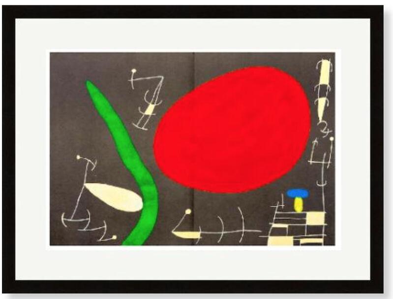Joan Miró, 'Assasinat de la Peinture', 1967, Print, Velum paper, Modern-Originals