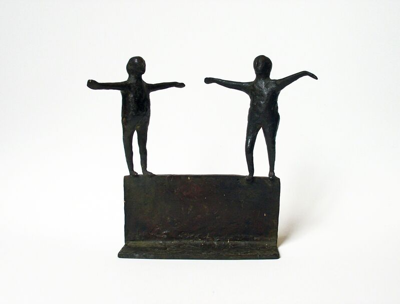 Louise Kruger, 'Untitled (Two Figures)', ca. 1958, Sculpture, Bronze, Bookstein Projects