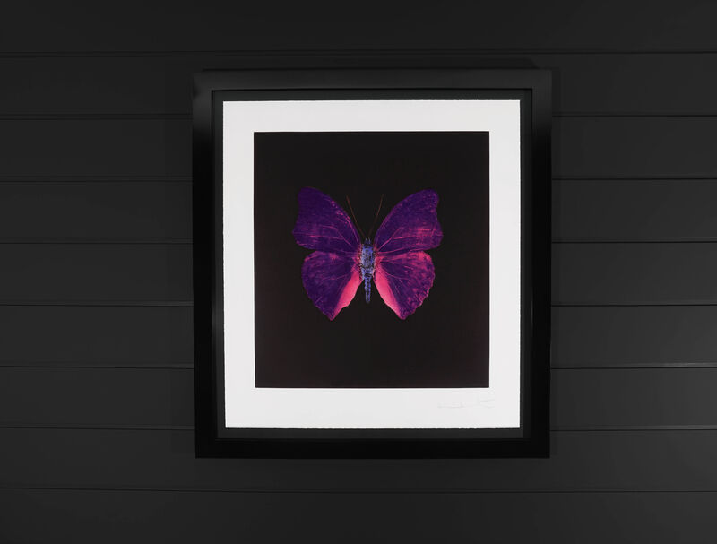 Damien Hirst, 'The Butterfly Soul, Violet', 2007, Print, Etching, Arton Contemporary