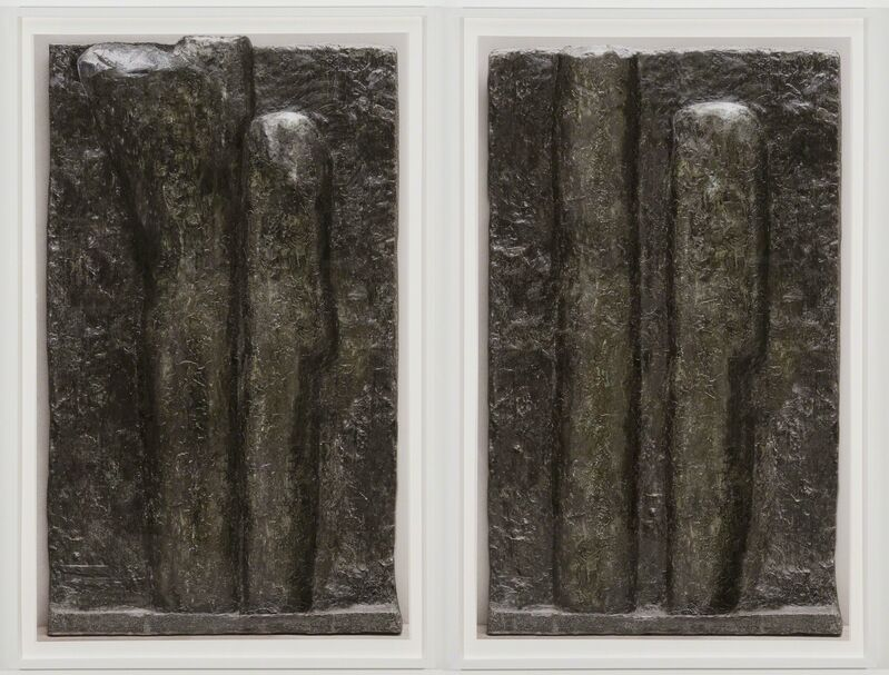 Nick Hornby, 'BACK TOWARDS FLAT', 2013, Photography, Digital c-print, in two parts, TWO x TWO