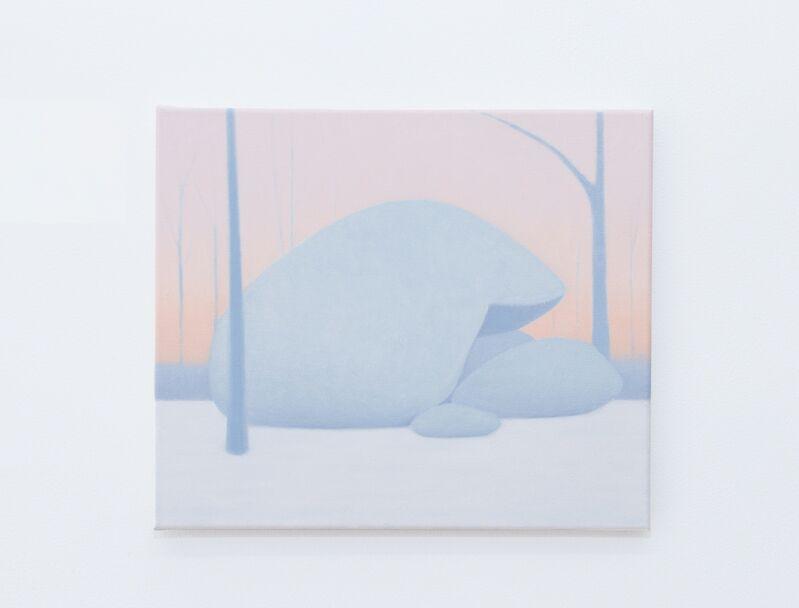 Andrew Gordon, 'A million miles before (II)', 2017, Painting, Oil on Canvas, Jack Barrett