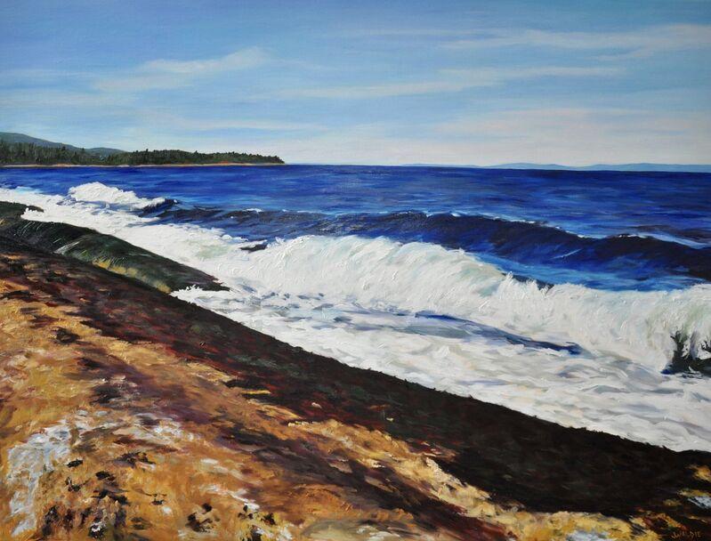 Jody Waldie, 'Georgia Strait', 2019, Painting, Oil on Canvas, Terrill Welch Gallery