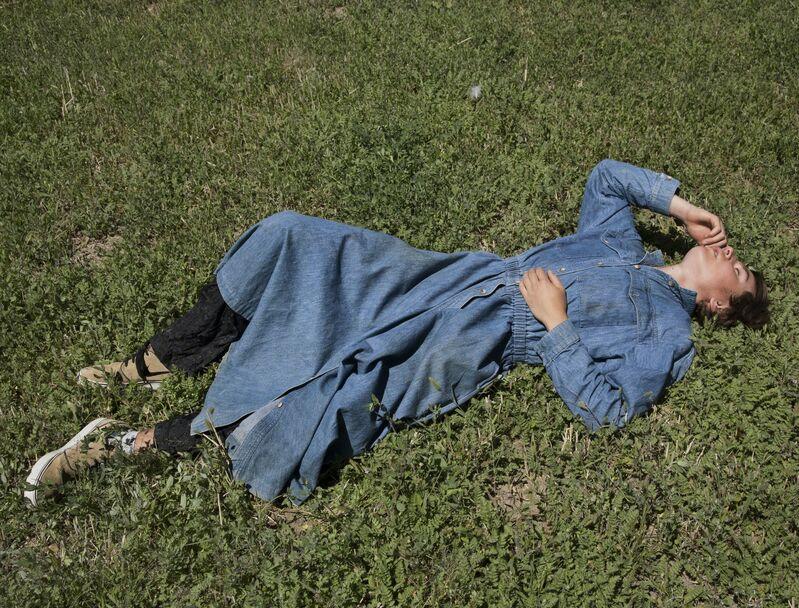 Sam Contis, 'Denim Dress', 2016, Photography, Pigmented inkjet print, The Museum of Modern Art