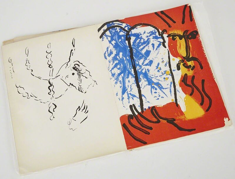 Marc Chagall, 'Bible. Verve, Vol. Viii, Nos. 33-34 (Book W/30 Works, Incl. 18 In Colour)', 1956, Print, The complete volume, comprising 18 lithographs in colour, Waddington's